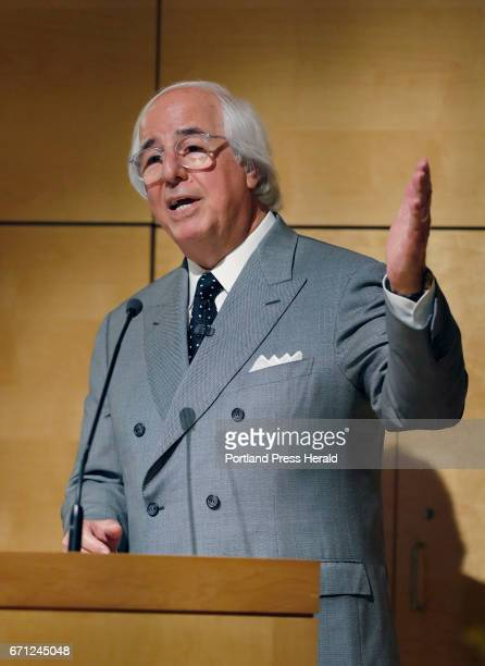 Frank Abagnale Jr a leading fraud expert and former scam artist featured in the movie Catch Me If You Can speaks Thursday April 20 2017 at an AARP...