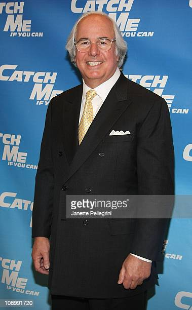Frank Abagnale Jr attends the Catch Me If You Can Broadway rehearsal Sneak Peek at The New 42nd Street Studios on February 10 2011 in New York City