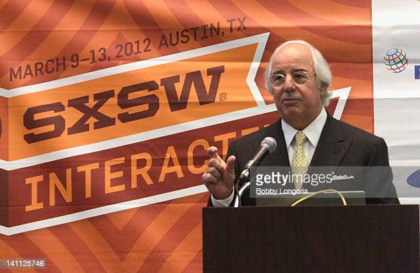 Frank Abagnale speaks onstage at Catch Me If You Can Frank Abagnale 10 Years Later during the 2012 SXSW Music Film Interactive Festival at Austin...