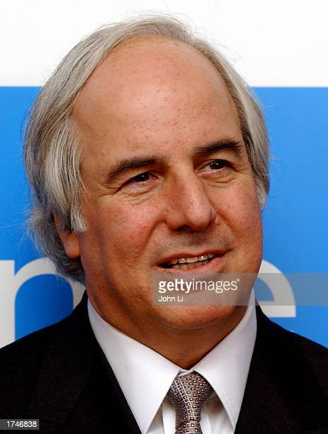 LONDON JANUARY 27 Frank Abagnale upon whom the film Catch Me If You Can is based attends a press conference before the United Kingdom premiere of the...