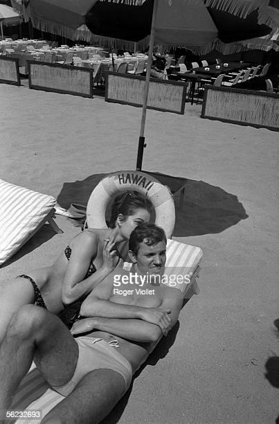Frank Alamo French singer Cannes 1965 HA1794