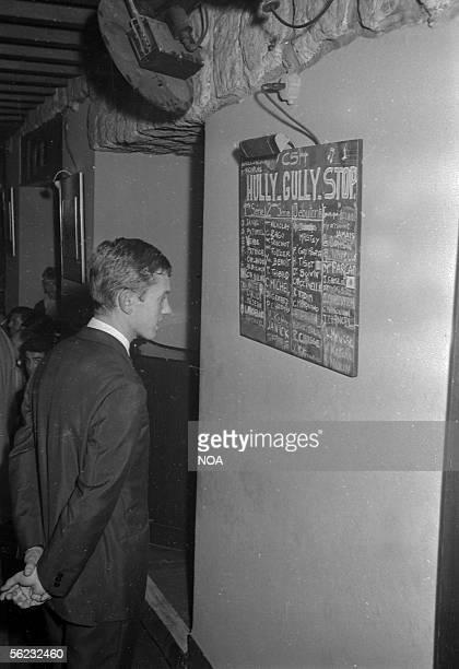 Frank Alamo French singer Paris Club SaintHilaire 1962 HA165035
