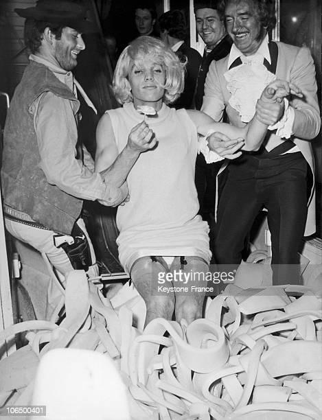 Frank Alamo In 1968 And Eddy Barclay