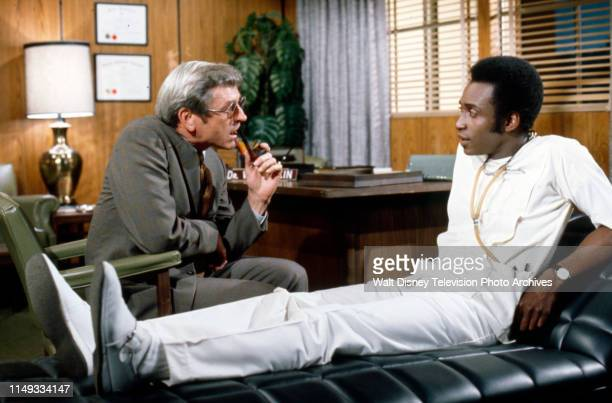 Frank Aletter Cleavon Little appearing on the ABC tv series 'The New Temperatures Rising Show' episode 'The New Head Nurse'