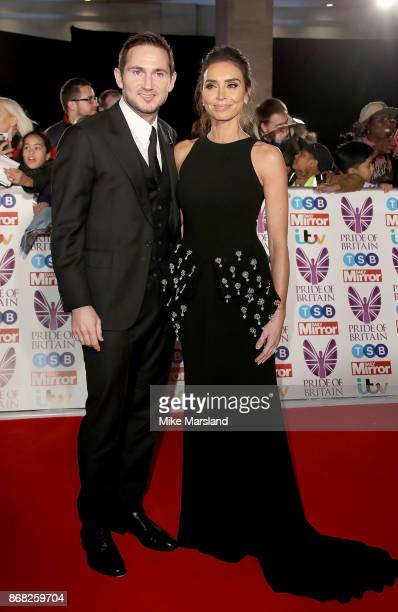 Frank and Christine Lampard attend the Pride Of Britain Awards at Grosvenor House on October 30 2017 in London England