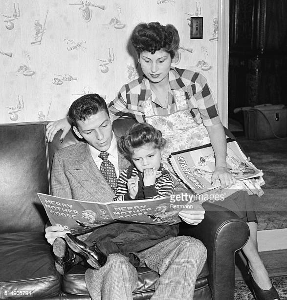 Frank and Nancy Sinatra read with their daughter also named Nancy The young Nancy later made a name for herself with the song These Boots Are Made...