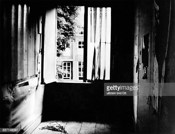Frank Anne Juedin D das Haus Prinsengracht 263 in Amsterdam in dessen rueckwaertigen Raeumen die juedische Familie 1942 1944 im Verborgenen lebte...