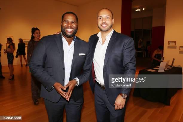 Frank Anthony and Aaron Reed at Thomas Keown 40th Birthday To Benefit Many Hopes on September 22 2018 in New York City
