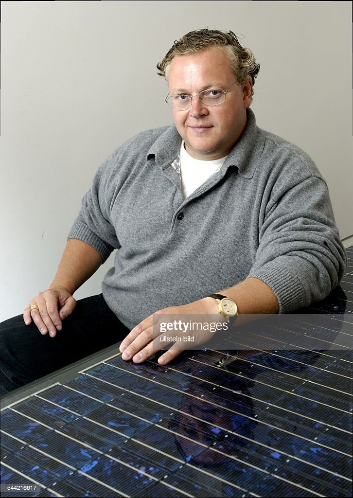 Frank Asbeck - Vorstandsvorsitzender der Solarworld AG : News Photo