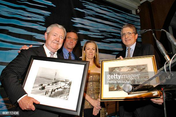Frank Bannack Robert Kennedy Jr Anne Hearst and George Soros attend RIVERKEEPER Gala Honoring the HEARST Corporation Hosted by CHRISTIE BRINKLEY with...