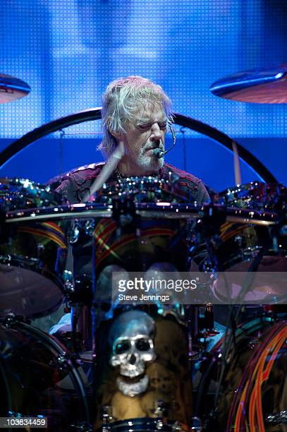 Frank Beard of ZZ Top performs at 1077 The Bone's 'Bone Bash XI' at Shoreline Amphitheatre on September 3 2010 in Mountain View California