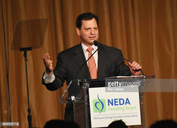 Frank Bisignano speaks onstage during the National Eating Disorders Association Annual Gala 2018 at The Pierre Hotel on May 16 2018 in New York City