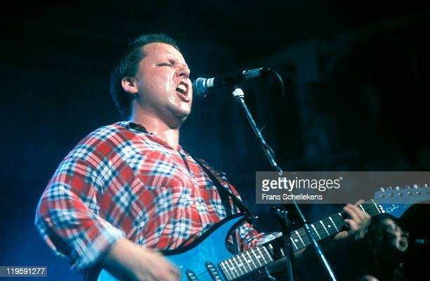 Frank Black performs with the Pixies at Paradiso in Amsterdam Netherlands on 25th May 1990