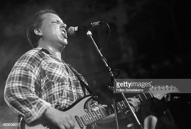 Frank Black vocal performs with the Pixies at Vredenburg Muziekcentrum in Utrecht Netherlands 24th September 1990