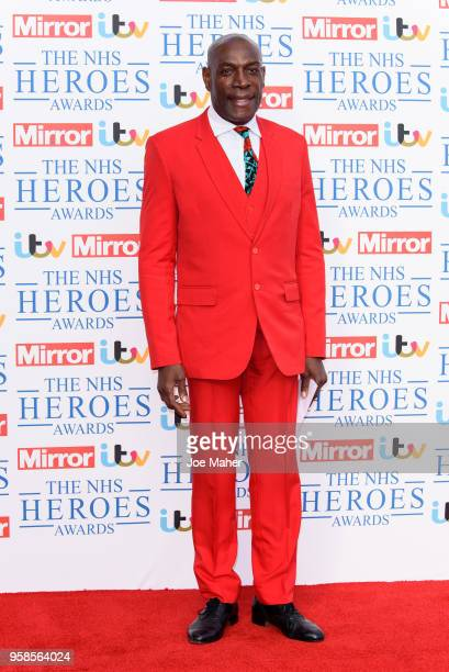 Frank Bruno attends the 'NHS Heroes Awards' held at the Hilton Park Lane on May 14 2018 in London England