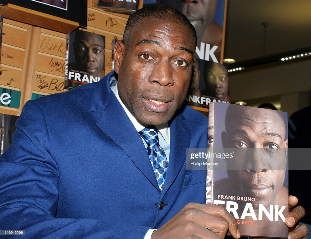 "Frank Bruno Signs His Book ""Fighting Back"" at Eason Bookstore in Dublin -"