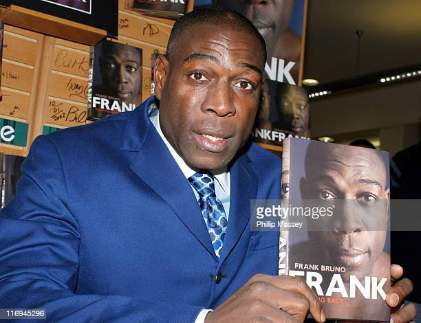 Frank Bruno during Frank Bruno Signs His Book Fighting Back at Eason Bookstore in Dublin November 12 2005 at Eason Bookstore in Dublin Ireland