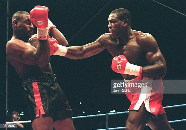 Frank Bruno of Great Britain hits Oliver McCall of the USA with a right at Wembley Stadium on September 2 1995 in London On September 22 the former...