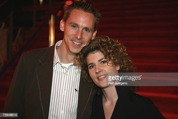 Frank Busemann and his wife Katrin attends the ''We Will Rock You'' Charity Show on November 26 2006 in Cologne Germany