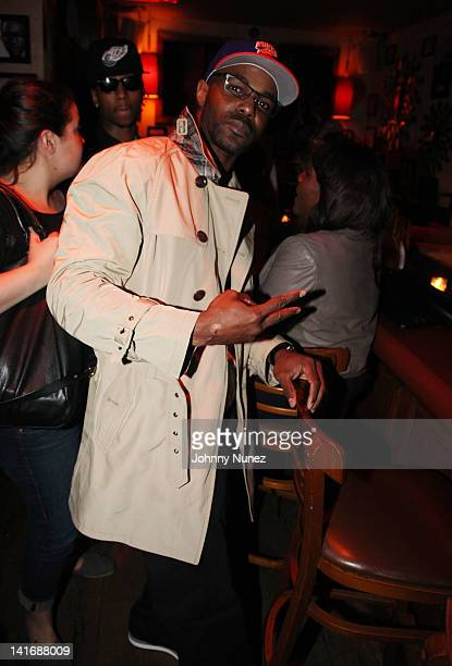 Frank C Matthews attends the 5 listening party at Tillman's on March 21, 2012 in New York City.