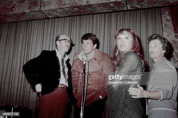 Frank Cady Mike Minor Linda Kaye Hennning and Irene Ryan performs on the TV show Perry Como's Kraft Music Hall in New York