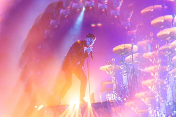 GBR: Frank Carter And The Rattlesnakes Perform At Barrowland Ballroom, Glasgow