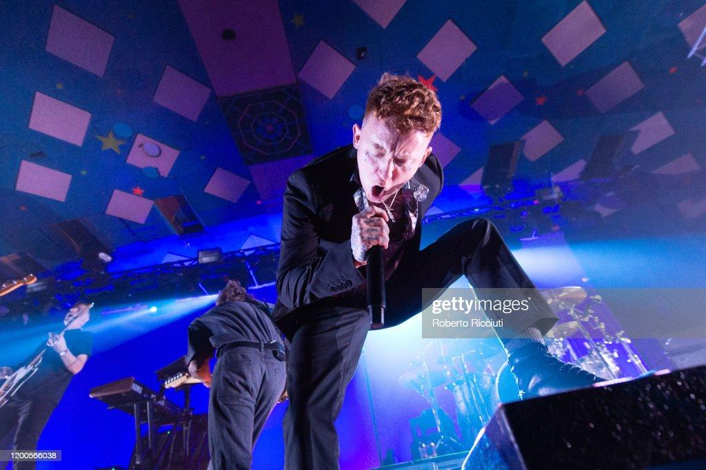 Frank Carter And The Rattlesnakes Perform At Barrowland Ballroom, Glasgow : News Photo