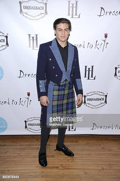 Frank Catania attends Dressed To Kilt Ball Fashion Show presented by Usquaebach Scotch Whisky The High Line Hotel SugarBearHair at The High Line...