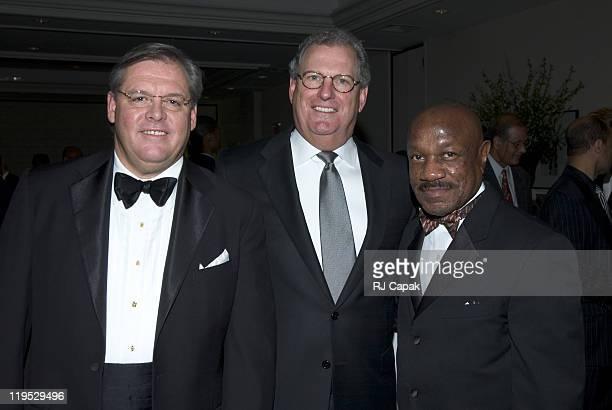 Frank Comerford President WNBC TV New York John Esposito Dinner Chair President CEO Schieffelin Company and Dr Edison O Jackson President Medgar...