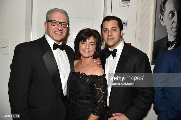 Frank D'Amelio Ann D'Amelio and Joe D'Amelio attend Opera and Couture Radmila Lolly at Carnegie Hall on April 20 2018 in New York City