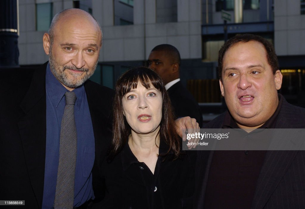 Frank Darabont, Niki Marvin and Frank Medrano during 10th Anniversary Screening of 'The Shawshank Redemption' - September 23, 2004 at Academy of Motion Picture Arts and Sciences in Beverly Hills, CA, United States.