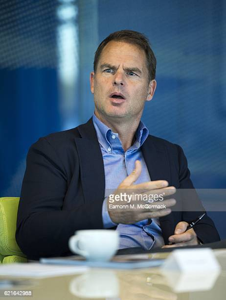 Frank de Boer attends the Leaders P8 Summit at the National Tennis Centre on November 7 2016 in London England