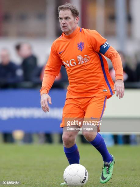 Frank de Boer of ExInternationals during the match between Koninklijke HFC v Ex Internationals on January 6 2018 in Haarlem Netherlands