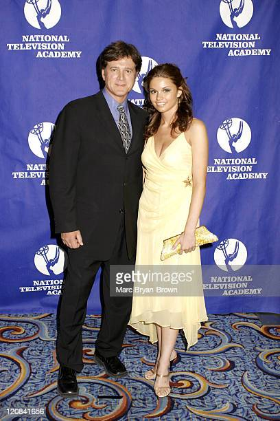 Frank Dicopoulos and Mandy Bruno of Guiding Light during The 32nd Annual Creative Craft Daytime Emmy Awards at Mariott Marquis Hotel in New York...