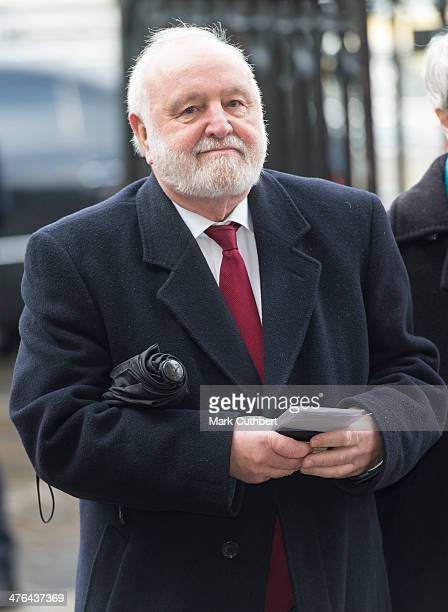 Frank Dobson attends National Service of Thanksgiving to celebrate the life of Nelson Mandela at Westminster Abbey on March 3 2014 in London England