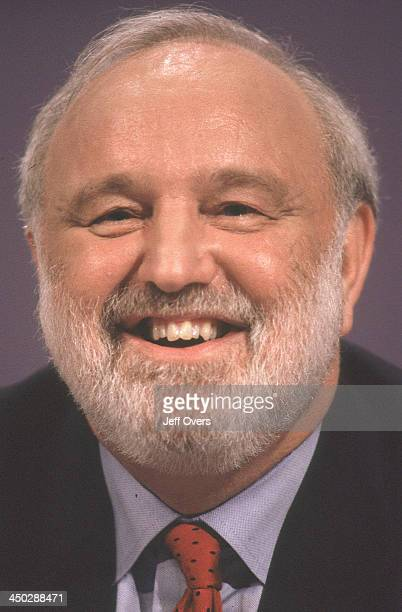 Frank Dobson Secretary of State for Health in profile at 1998 party conference