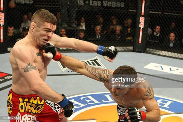 Frank Edgar def Matt Veach Submission 222 round 2 during The Ultimate Fighter 10 Finale at The Pearl at the Palms on December 5 2009 in Las Vegas...