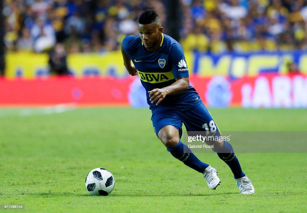 Boca Juniors v Temperley - Superliga 2017/18 : News Photo