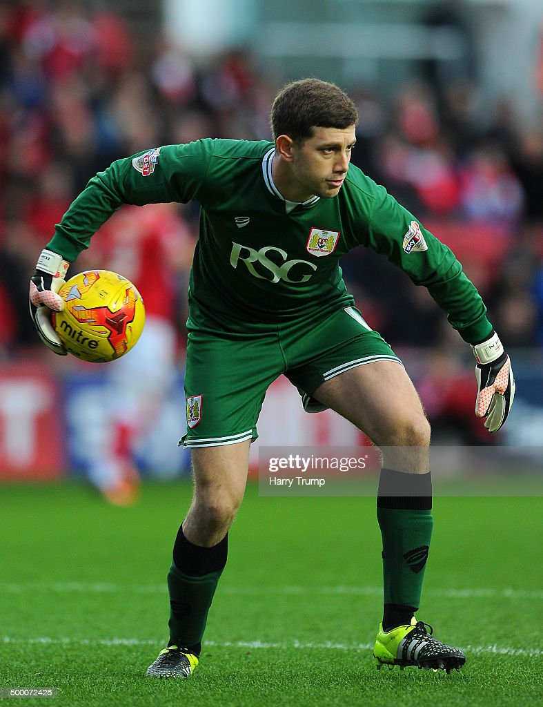 Frank Fielding of Bristol City during the Sky Bet Championship match between Bristol City and Blackburn Rovers at Ashton Gate on December 5, 2015 in Bristol, England.