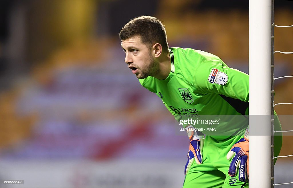 Frank Fielding of Bristol City during the Sky Bet Championship match between Wolverhampton Wanderers and Bristol City at Molineux on December 26, 2016 in Wolverhampton, England.