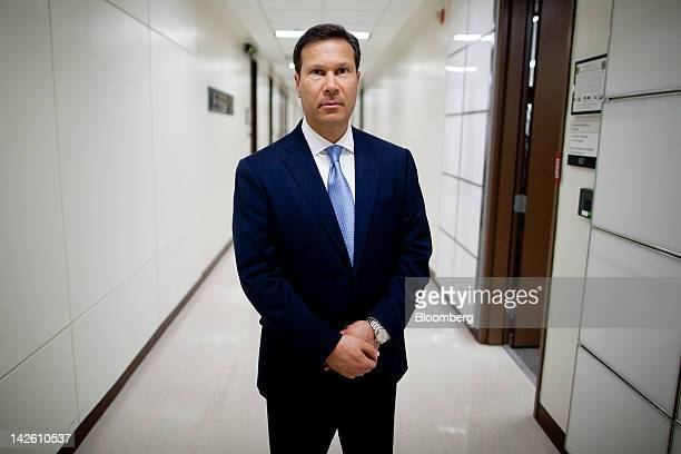 Frank Figliuzzi assistant director for counterintelligence with the Federal Bureau of Investigation stands for a photograph at FBI headquarters in...