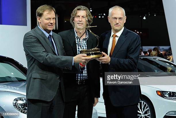 Frank Fischer chairman and chief executive officer of Volkswagen Group of America Chattanooga Operations Angus MacKenzie editorinchief of Motor Trend...