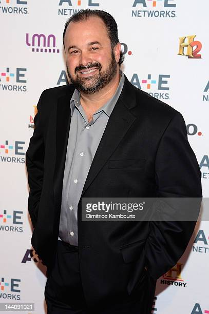 Frank Fritz of American Pickers attends the AE Networks 2012 Upfront at Lincoln Center on May 9 2012 in New York City