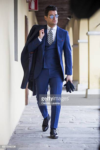 Frank Gallucci is seen on January 12 2017 in Florence Italy