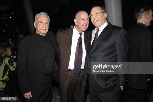 Frank Gehry Arnold Lehman and Bruce Ratner attend THE BROOKLYN MUSEUM LOUIS VUITTON honor Artist TAKASHI MURAKAMI at The 2008 Brooklyn Ball...