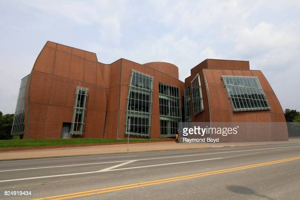 Frank Gehry's Albert H Vontz Center for Molecular Studies at the University of Cincinnati in Cincinnati Ohio on July 22 2017 MANDATORY MENTION OF THE...