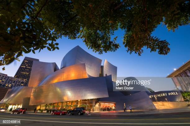 frank gehry's disney concert hall - disney stock pictures, royalty-free photos & images