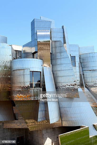 Frank Gehry's Frederick R. Weisman Art Museum on the University of Minnesota campus on May 21, 2015 in Minneapolis, Minnesota.