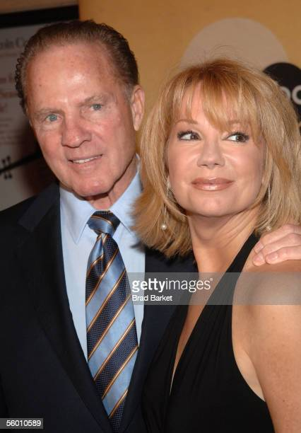 Frank Gifford and Kathie Lee Gifford arrive to ABC's Good Morning America's 30th Anniversary Gala at Avery Fisher Hall on October 25, 2005 in New...