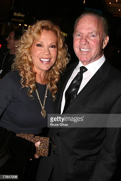 Frank Gifford and Kathie Lee Gifford attend the opening night of 'Cyrano' on Broadway at The Richard Rodgers Theater November 1 2007 in New York City